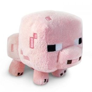 Minecraft 7 inch Pig Plush Toy New in Package